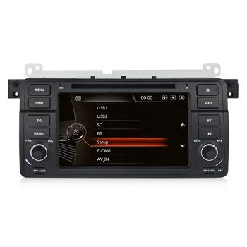Mekede WINCE 6.0 MTK MT3360 DVD/DVR/3G/WIFI 7'' car dvd gps player for BMW 3Series E46 325i 325xi 325ci Radio Video Stereo