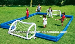 Mini inflatable PVC soccer goal