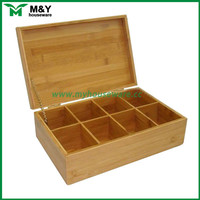 superior bamboo wooden tea gift box for wholesale