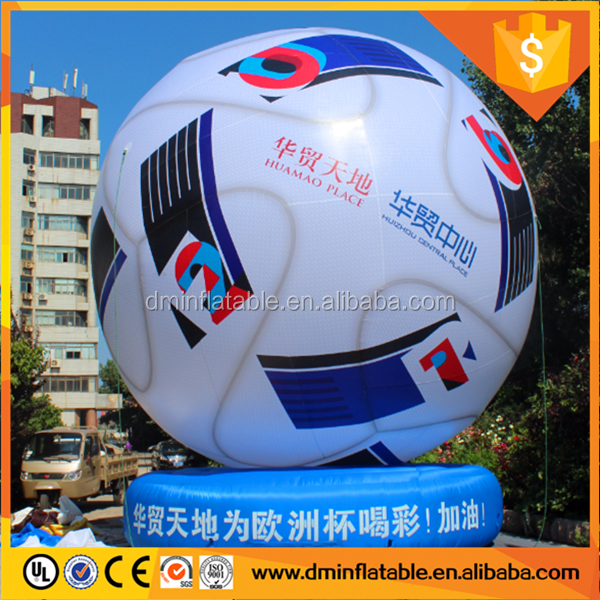 2016 online shop sports event inflatable football, inflatable football mascot for world cup