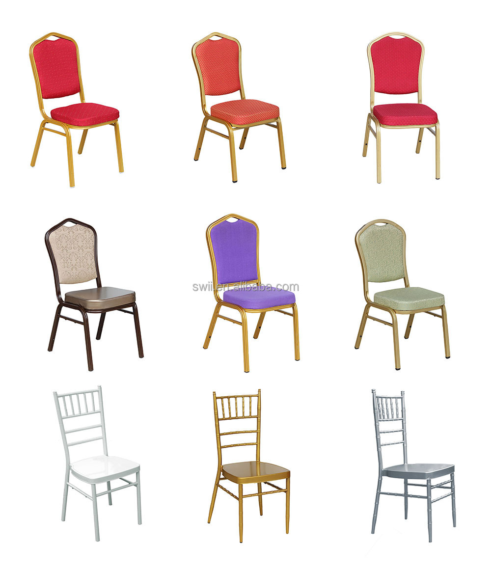 used cheap upholstered dining room chair metal frame banquet chairs
