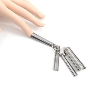 The Cheapest 9 size Nails French Smile Line Cutter; 5CM nail art smile Edge Clipper