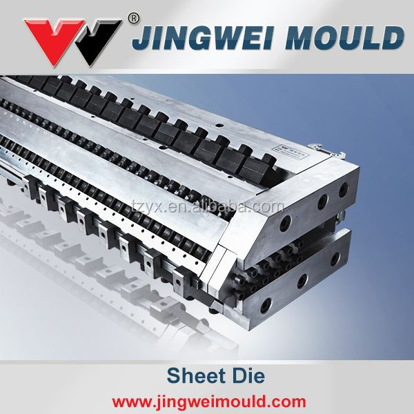 China plastic extrusion moulds/mouding/dies
