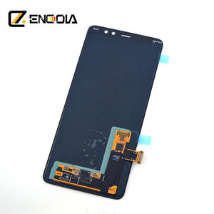 Guangzhou shop supply touch display panel for samsung galaxy a730 A8 PLUS 2018 lcd digitizer assembly