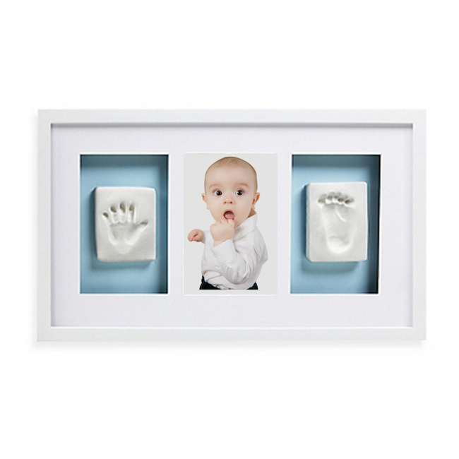 Baby Hand Or Baby Foot Imprint Kit With Photo Frame