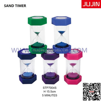 mini hourglass sandglass sand clock timer 5 minutes wholesale