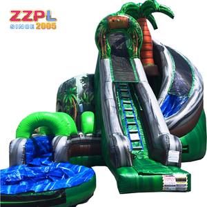 water slide jumper water slide equipment large plastic water slide for sale