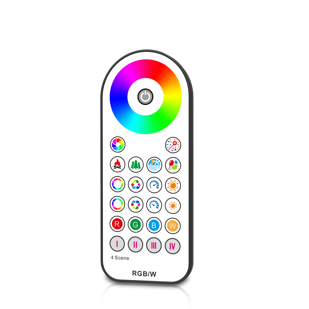 Guangzhou Skydance RF wireless LED remote control Touch wheel RF Remote  Controller for RGB/RGBW LED light, View RF wireless LED light remote  control,