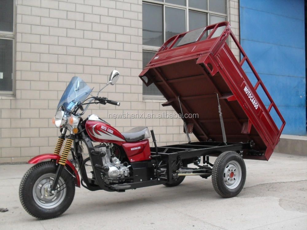 China Factory 3 Wheel Motor Tricycle use for Cargo with EEC