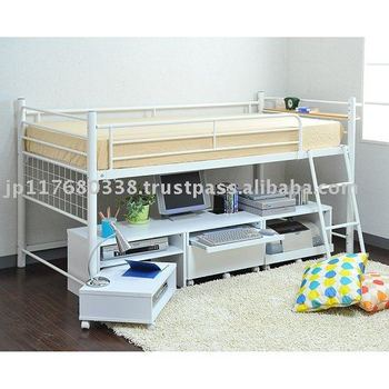 Mid-hight metal bed frame with storage space bib-012  sc 1 st  Alibaba & Mid-hight Metal Bed Frame With Storage Space Bib-012 - Buy Mid ...