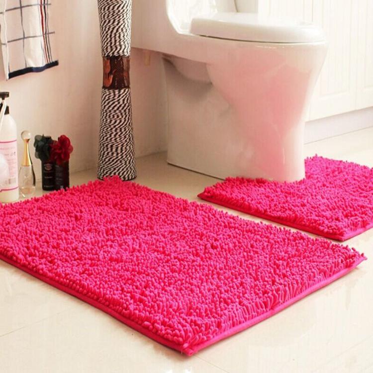 धो सकते हैं बड़े विरोधी पर्ची शौचालय स्नान मैट