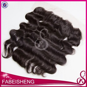 top quality 13*4 size 100% real hair wholesale virgin ear to ear large lace closure