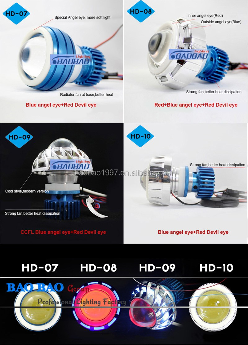 China supplier manufacture top quality motorcycle led headlight h4 6v