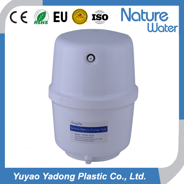 3 GPD plastic household RO <strong>water</strong> filter pressure <strong>water</strong> <strong>tank</strong>