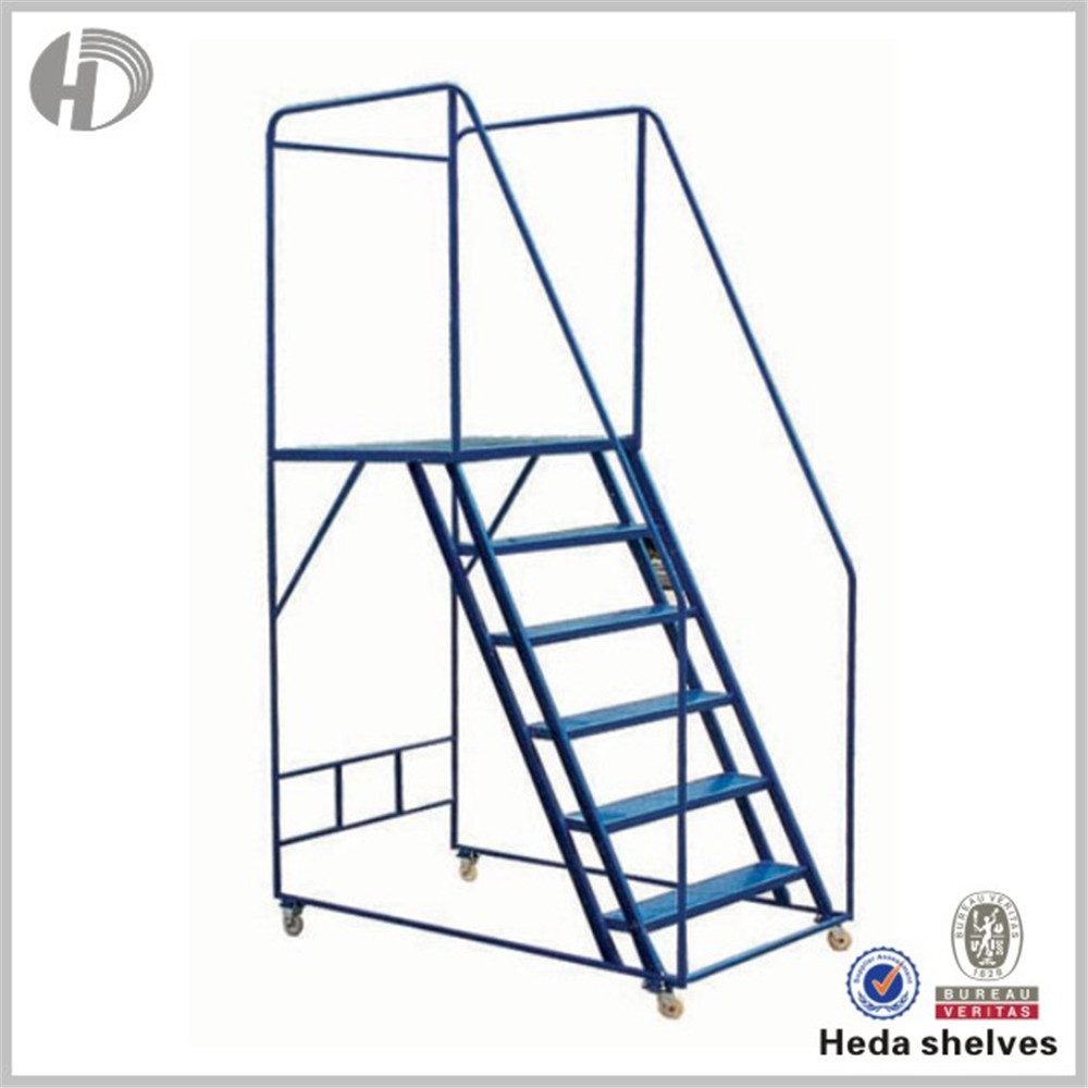 Oem Step Ladder Stool With Wheel