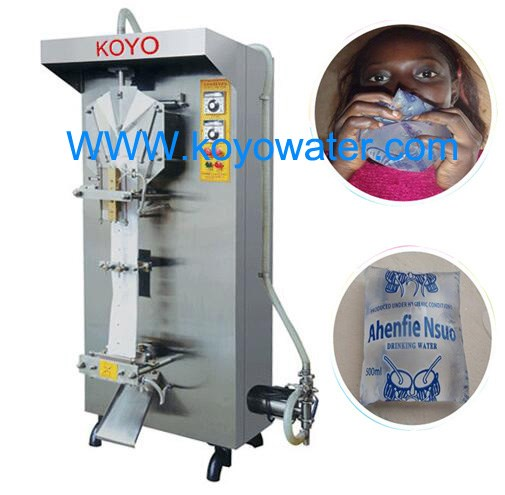 Koyo beverage application vertical form fill and seal machine