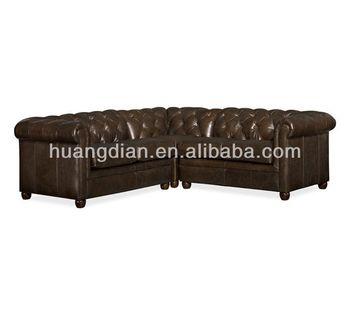 Leather Colorful Classic Modular Chesterfield Sofa Set SF3843 Modern  Classic Living Room Sofa