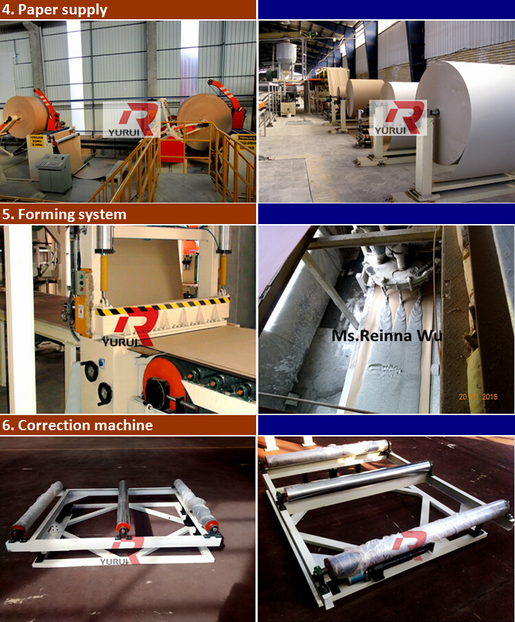 China Supplier Gypsum Board Production Machine,Gypsum Board ...