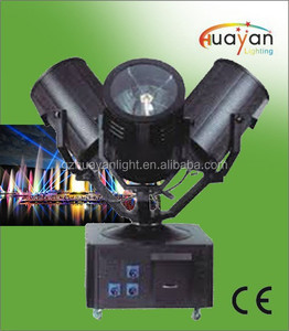 outdoor search light China Supplier Far distance searchlight high power 1-7KW each head 3 heads outdoor searchlight