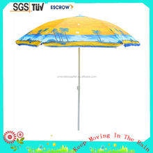 New Product OEM and ODM Cheap price Sun protection huge red bull outdoor-beach umbrella