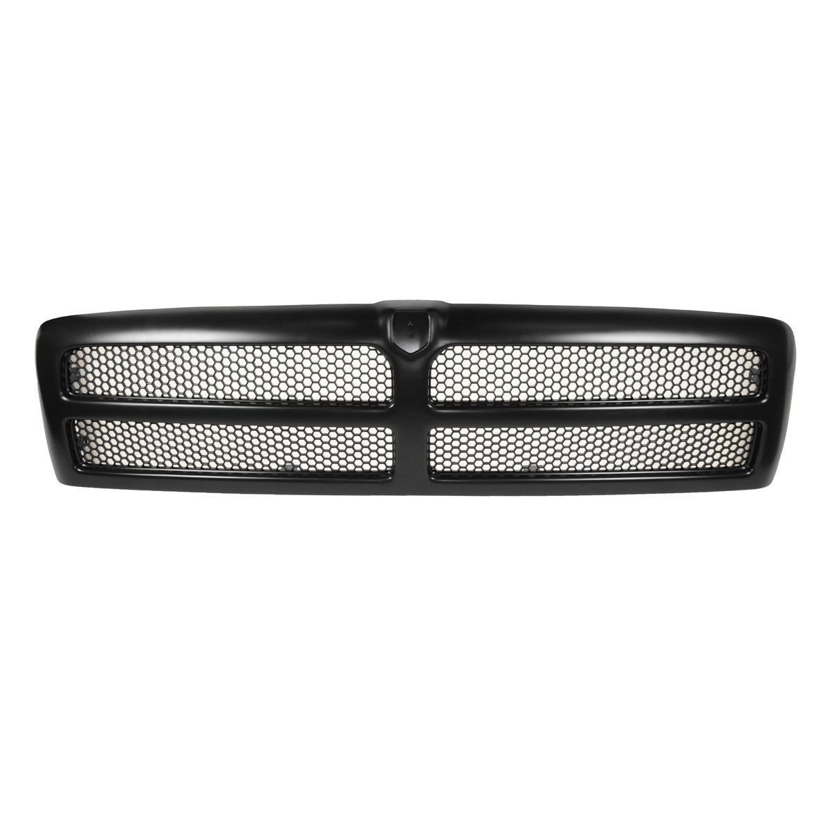 1994-2002 Grille Grill Black Aftermarket Front for Dodge Ram 4X4 2X4 1500 2500 3500 Pickup Truck ST Laramie