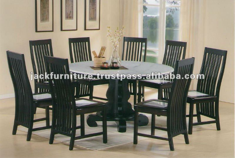 Marble Round Dining Table Sets