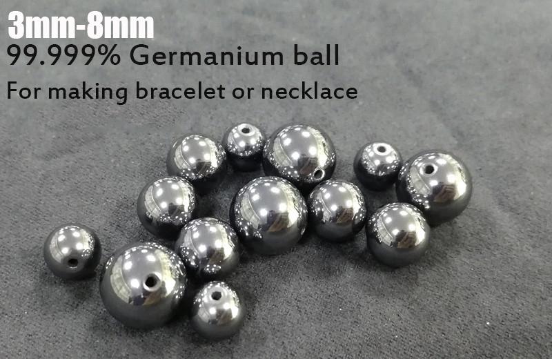 Großhandel Preis Gute Qualität 99.999% preis von silizium germanium für germanium schmuck