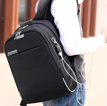 F001D usb backpack anti theft backpack bag waterproof usd4.95--8.5/pc