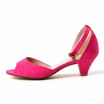 a95ef241772 TongPu High Quality Comfortable pink sexy low heel Ladies Sandal Shoes Women