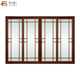 Tempered glass interior frosted glass door large sliding glass doors for living room