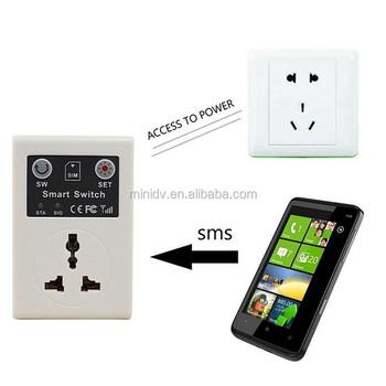 Smart Socket Eu-plug Wireless Remote Switch Power Socket Gsm Phone ...