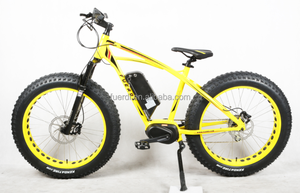BAFANG MID MOTOR FAT COOL E-BIKE with fat tyres