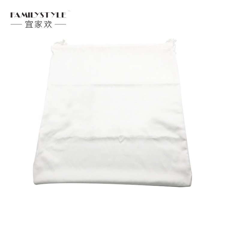 Eco-friendly cotton drawstring laundry bags for hotel