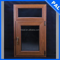 65 series Out-swing replace window glass with Max unobstructed view brown color