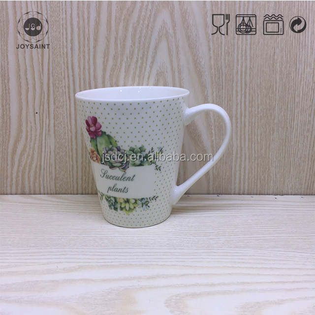 Wholesale lego printing Custom making enamel coffee mug cup