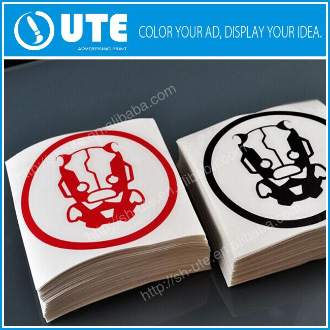 Custom business advertising logo bathroom tile stickers decals