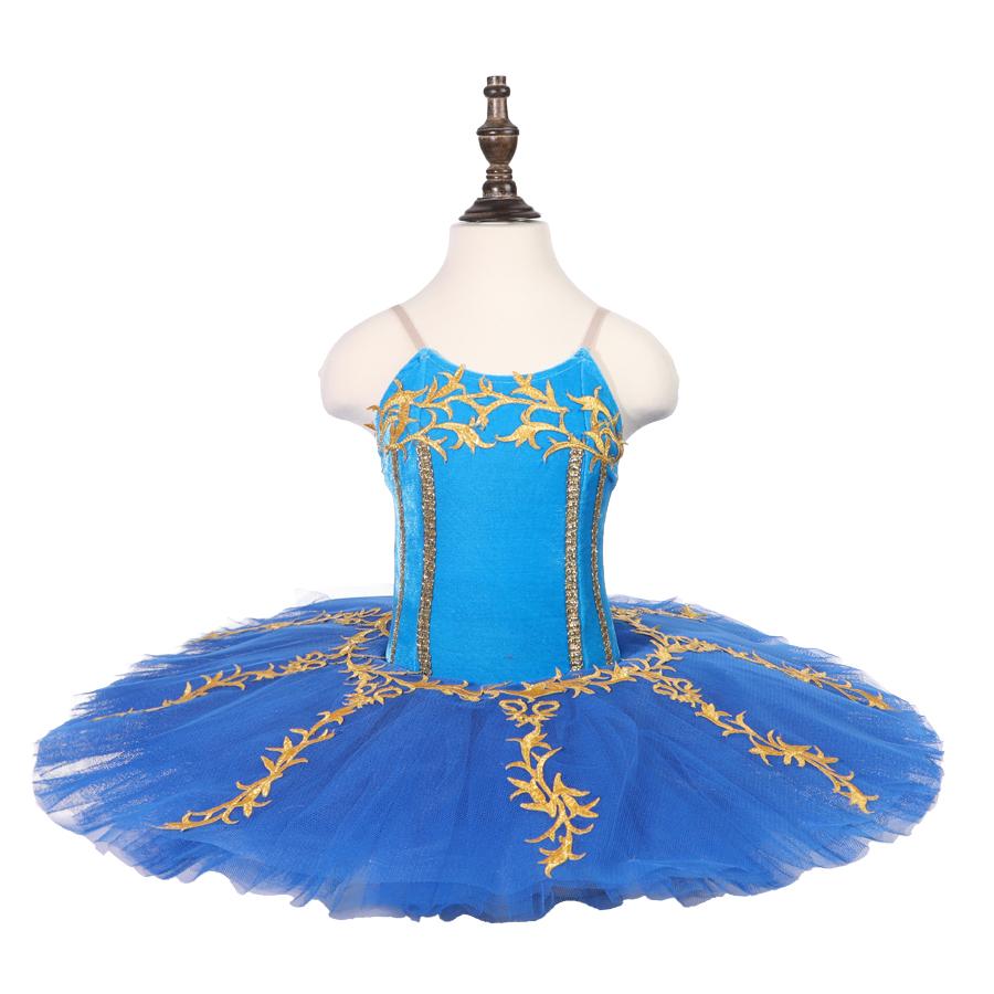 1110987a0 Oct8083 azul profundo adultos tutú de ballet pájaro clásico para las mujeres