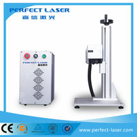 20W/30W Perfect Laser - anodized aluminium pens and keyrings wood craft Raycus/IPG fibre laser marking machine for Sale