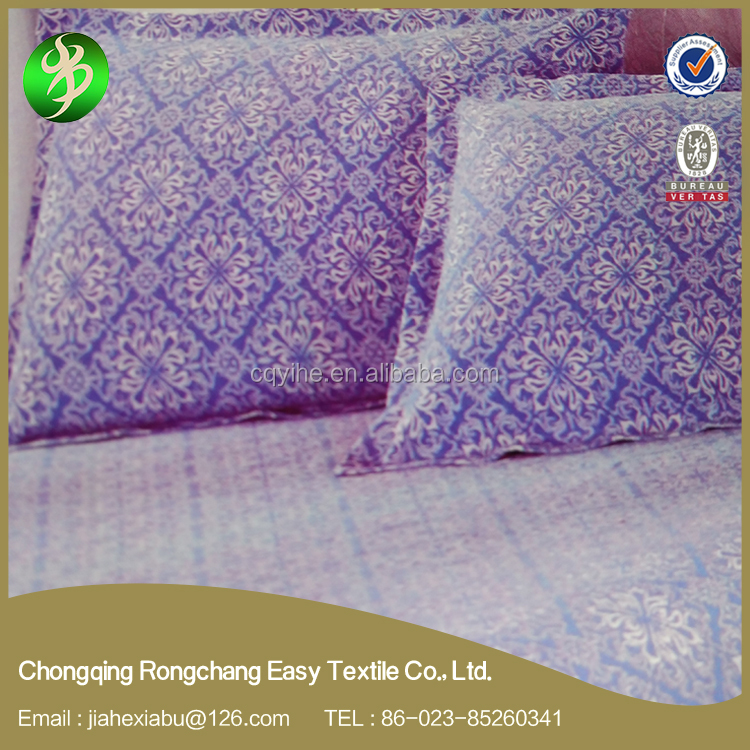 2017 New embroidered and washed bedding set manufacturer