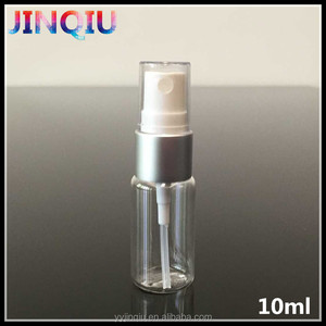 Wholesale 10ml cosmetic spray bottle , petg pump bottle , plastic mist sprayer pump bottle