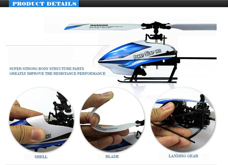 Hot WL toys helicopter V977 6CH 2.4G Brushless 3D Flybarless RC Blade Helicopter for sale