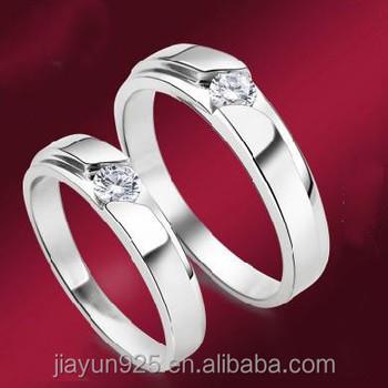 Ein Paar Preis Klassische 18 Karat Gold überzogene Diamant Paar Ringe925 Sterling Silber Hochzeit Paar Ring Buy 18 Karat Weißgold Paar