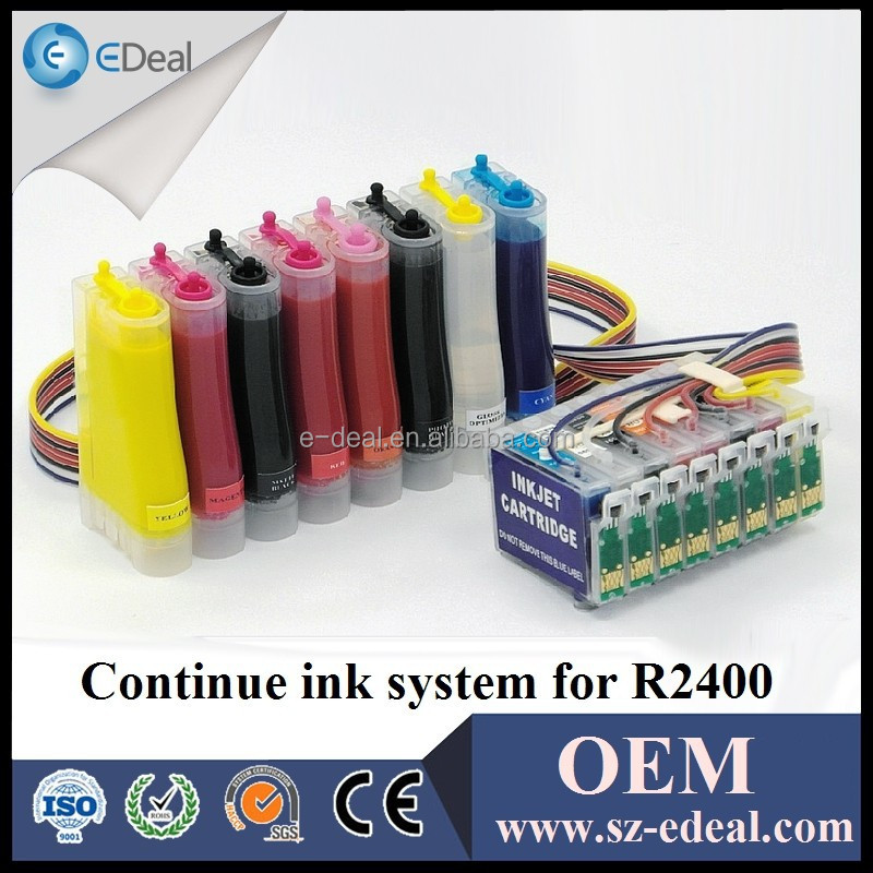 T0591 T0592 T0593 T0594 T0595 T0596 T0597 T0599 refill ink cartridge for Epson R2400 ciss