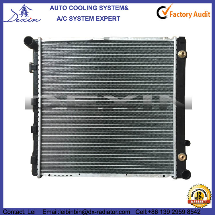 OEM 1245006303 1245006202 1992-1995 for Mercedes Benz W124 E200 Radiator