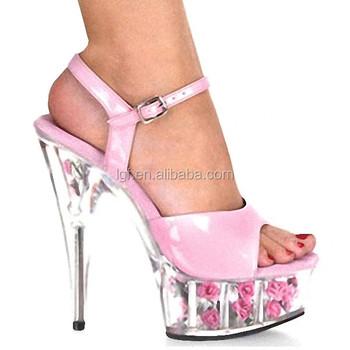 88b478b15c74 Sexy 5 Inch High Heels 15cm Stripper Shoes Casual Rhinestone Decoration  Transparent Girl Shoes Sexy Crystal Shoes - Buy Sexy Crystal Shoes