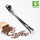 Amazon hot seller 2018 kitchen gedgets wholesales silver stainless steel kitchen accessories clip cheese spoon coffee spoon