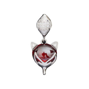 Luxury 925 Sterling Silver Pendent Women Elegant Wine Red Garnet Pendent Fashion All-match Jewelry Accessory Drop Shipping