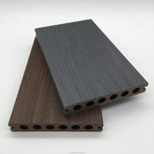 new wpc co-extrusion hollow bamboo plastic composite decking board