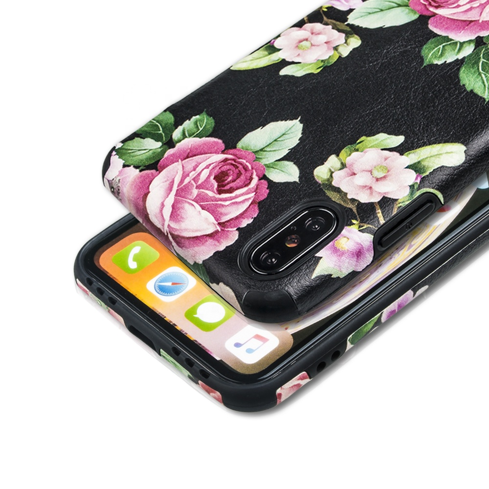 Benutzerdefinierte relief gemalt PU leder telefon fall für Iphone 7/7 plus, mode weiche handy shell, durable telefon fall