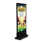 High quality double sides outdoor scrolling LED advertising light box